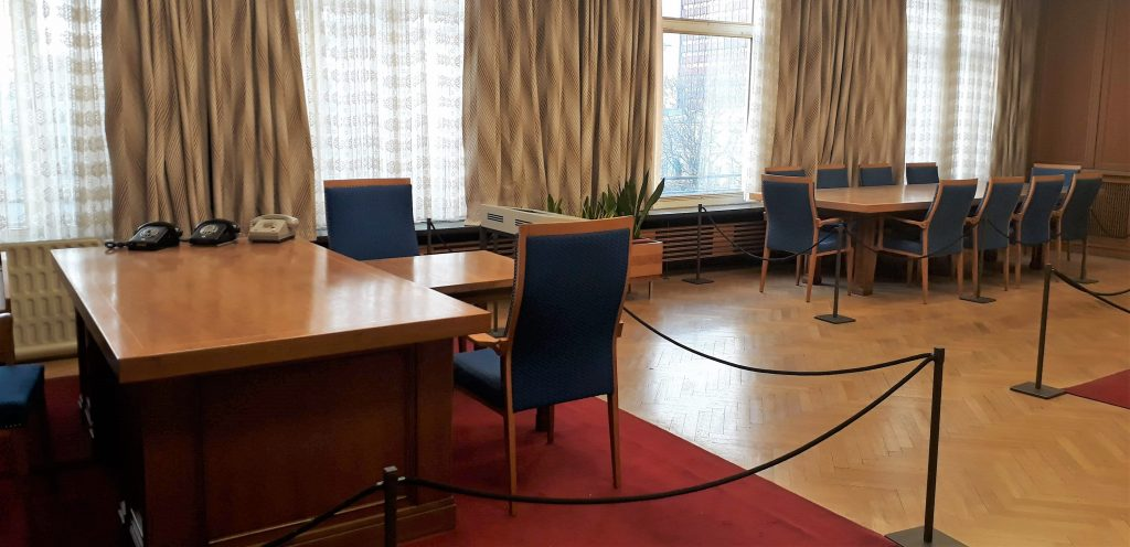 Mielke's office in Stasi headquarters