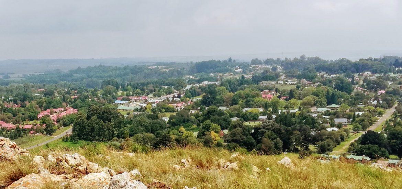 Dullstroom view from hillside