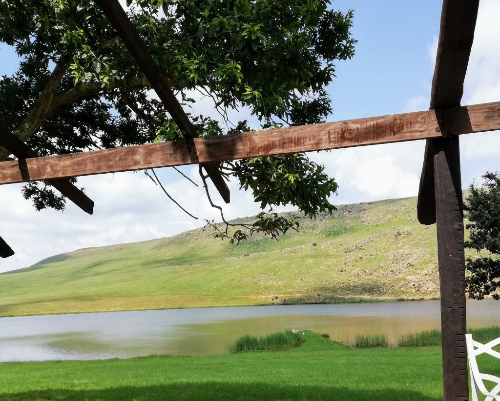 View from Dullstroom on the Dam rec centre
