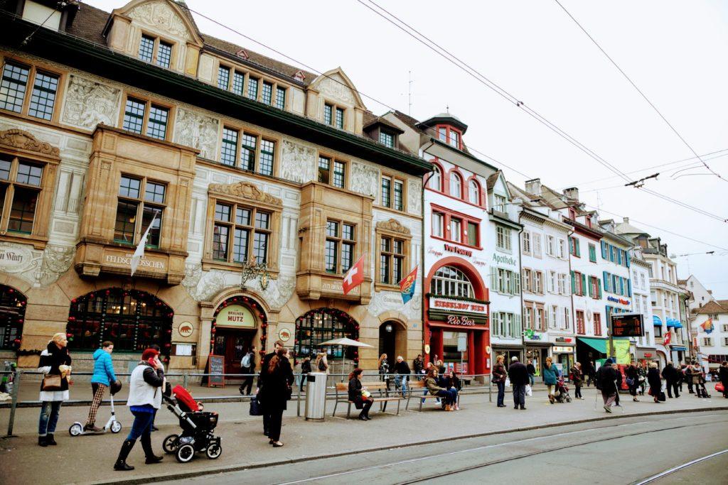 Barfusserplatz Basel
