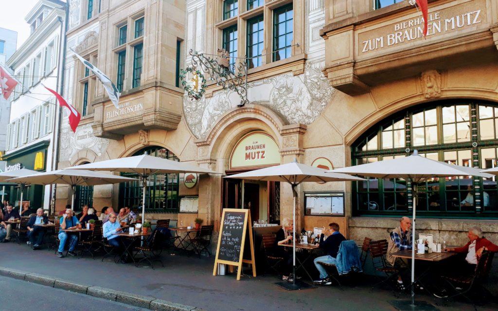 Zum Brauen Mutz Barfusserplatz Basel