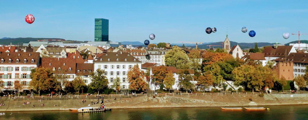 Basel Skyline from Pfalz