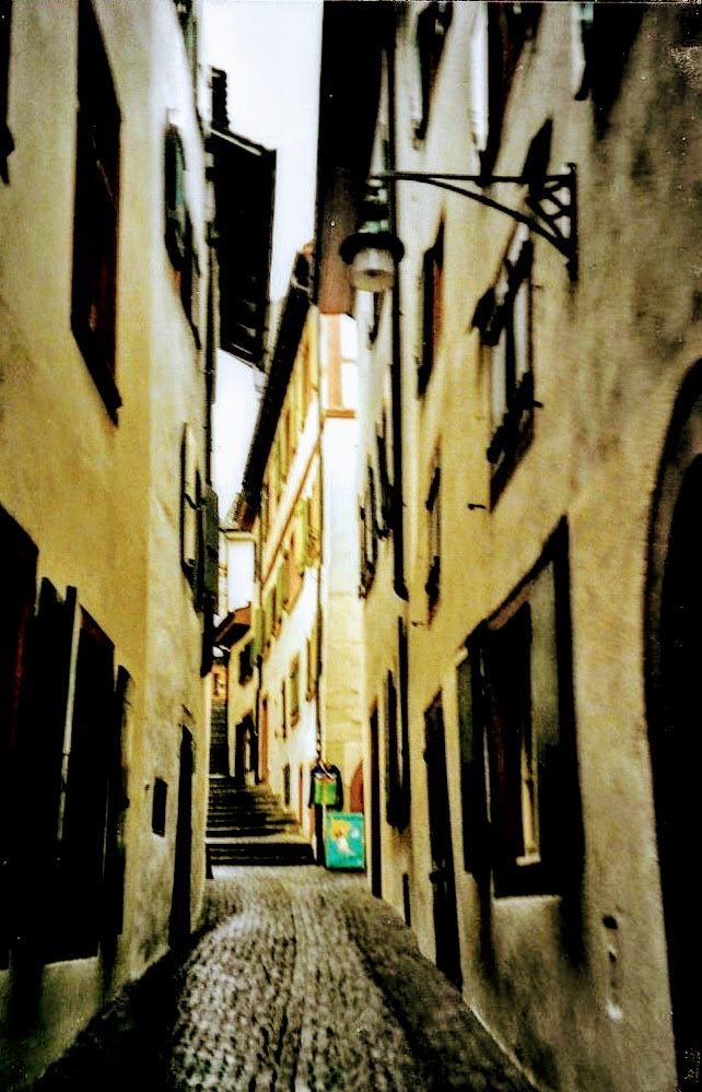 Narrow Basel streets
