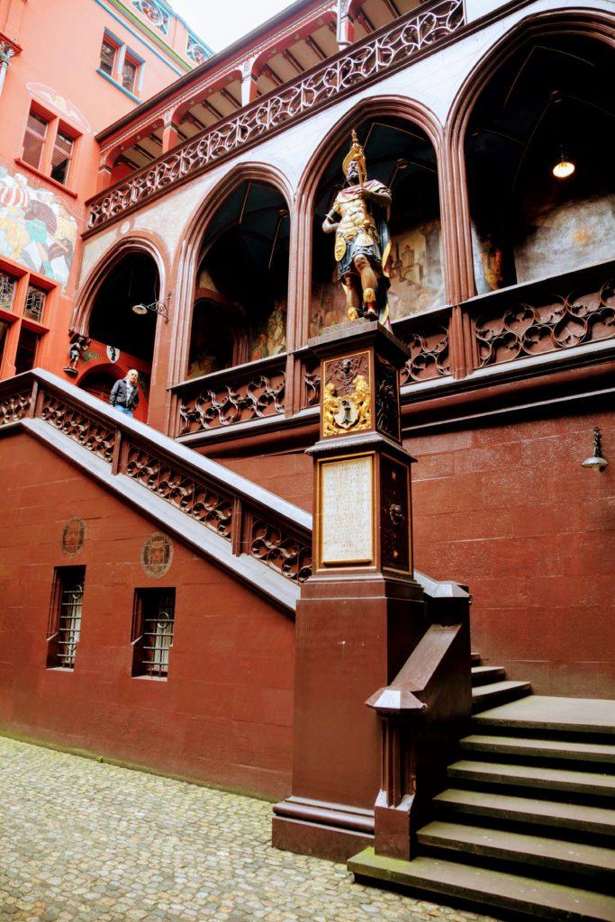 Inside Basel Town Hall
