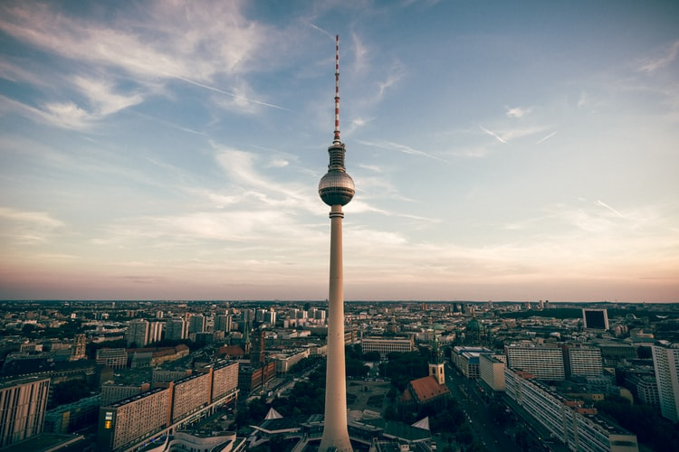 48 hours in Berlin skyline