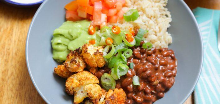 Vegan Black Bean Burrito Bowl