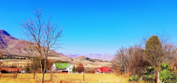 Clarens South Africa Landscape