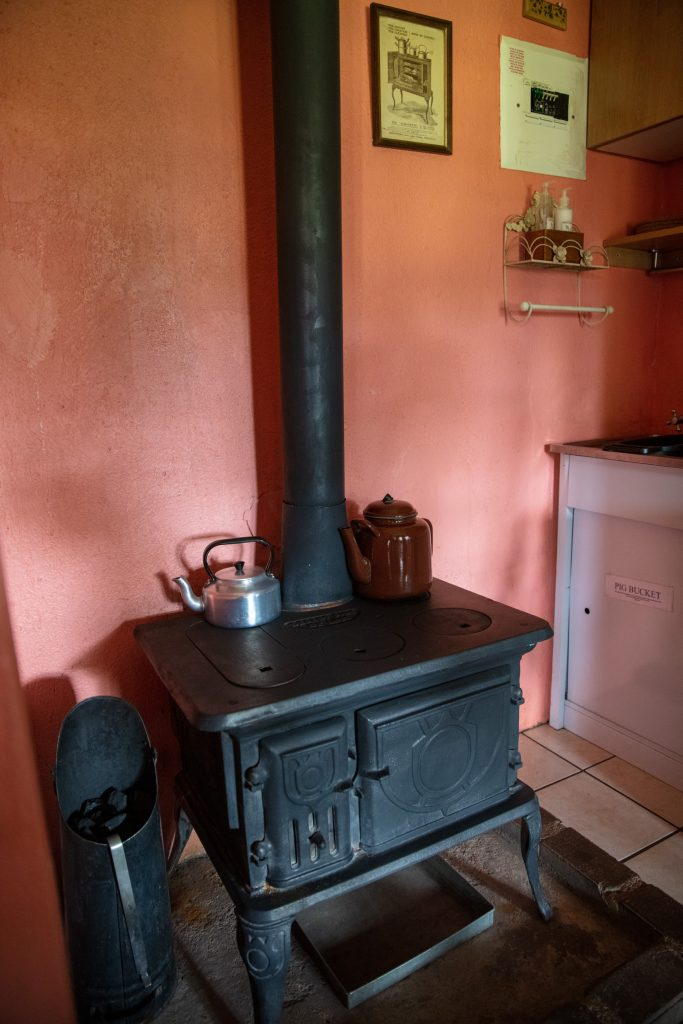 Elands Valley Dullstroom Accommodation coal stove
