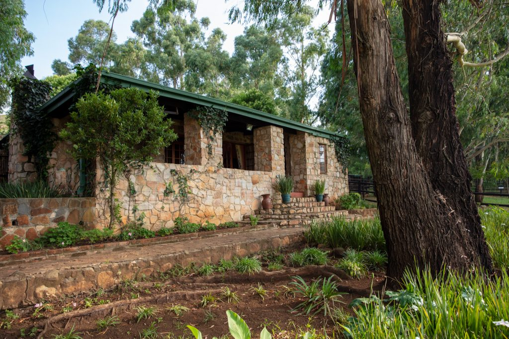 Elands Valley Dullstroom accommodation Strawberry Fields outside