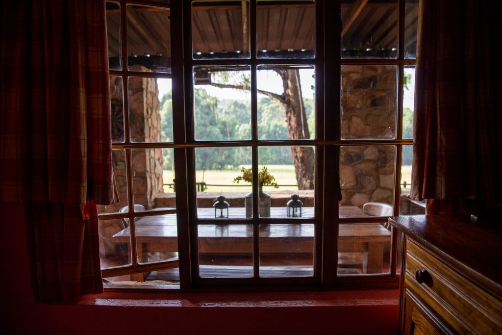 Elands Valley Dullstroom Accommodation Strawberry Fields stoep