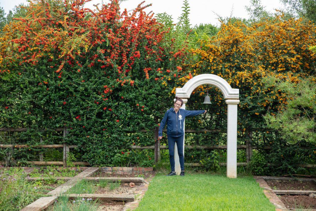 Elands Valley herb garden