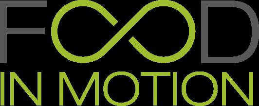 Food in Motion logo fresh groceries delivered