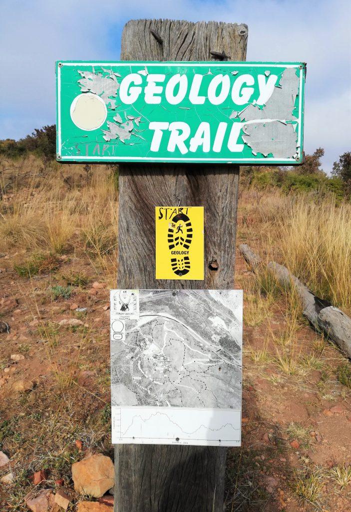 Geology Trail start info