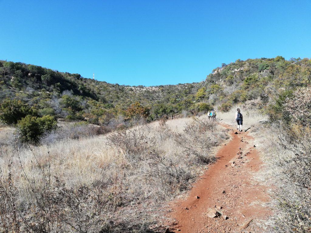 Krokodilberg trail at Hennops Hiking