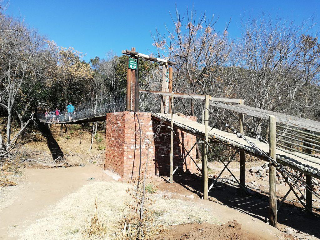 Long Tom Bridge at Hennops trails