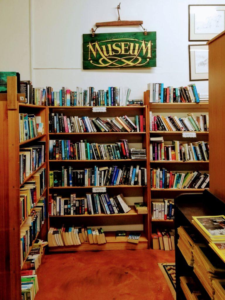 Book shelves in Memory Hold-The-Door Bookstore