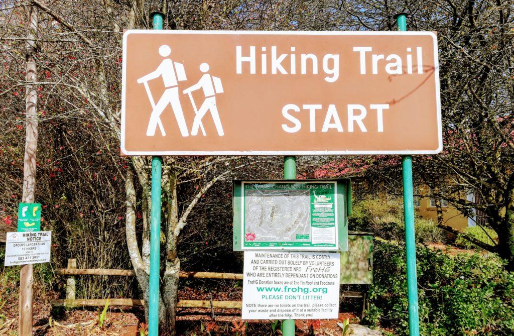 Louis Changuion Hiking Trail Start