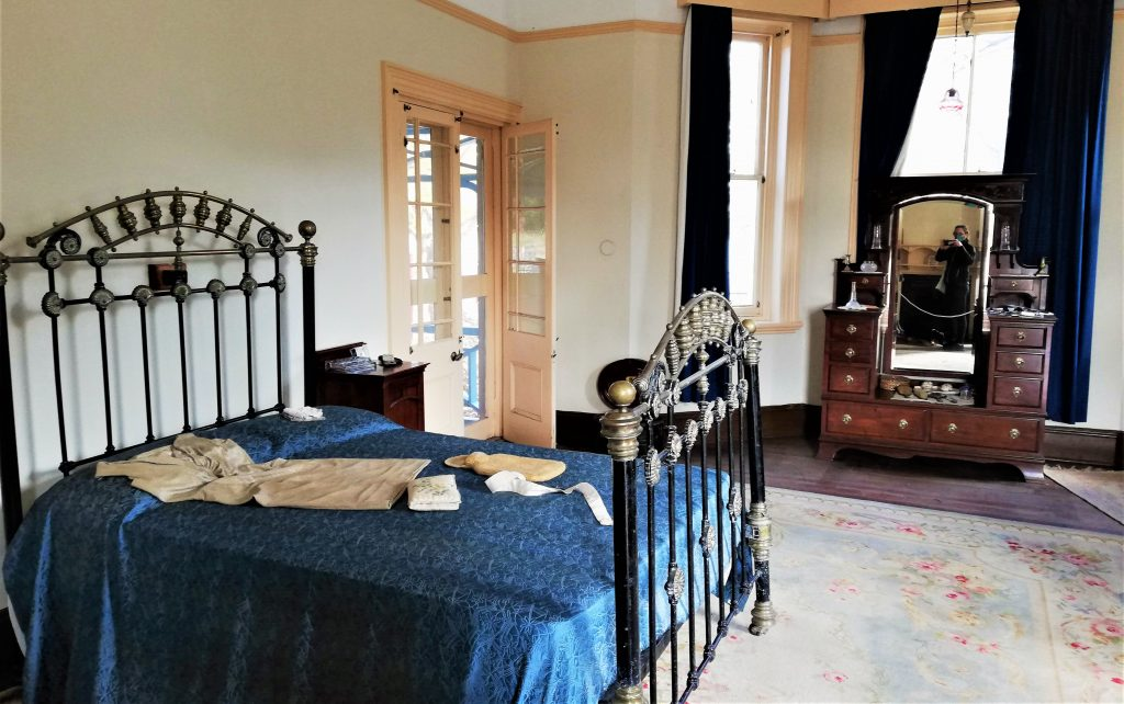 Master bedroom at McHardy House