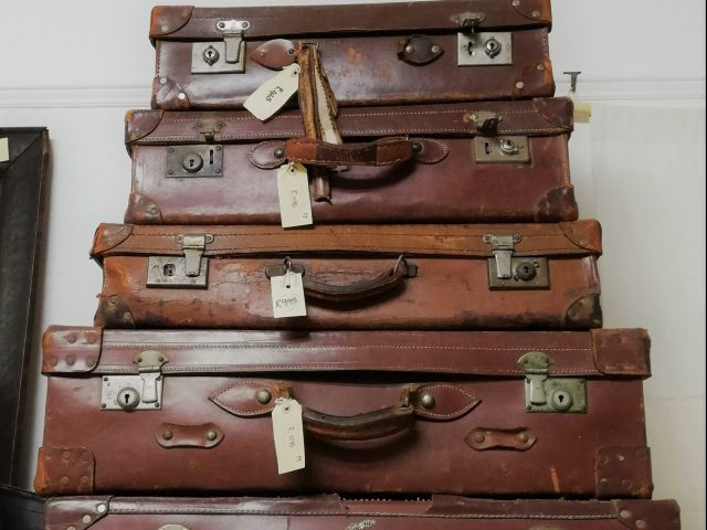 Suitcase collection at Rust in White