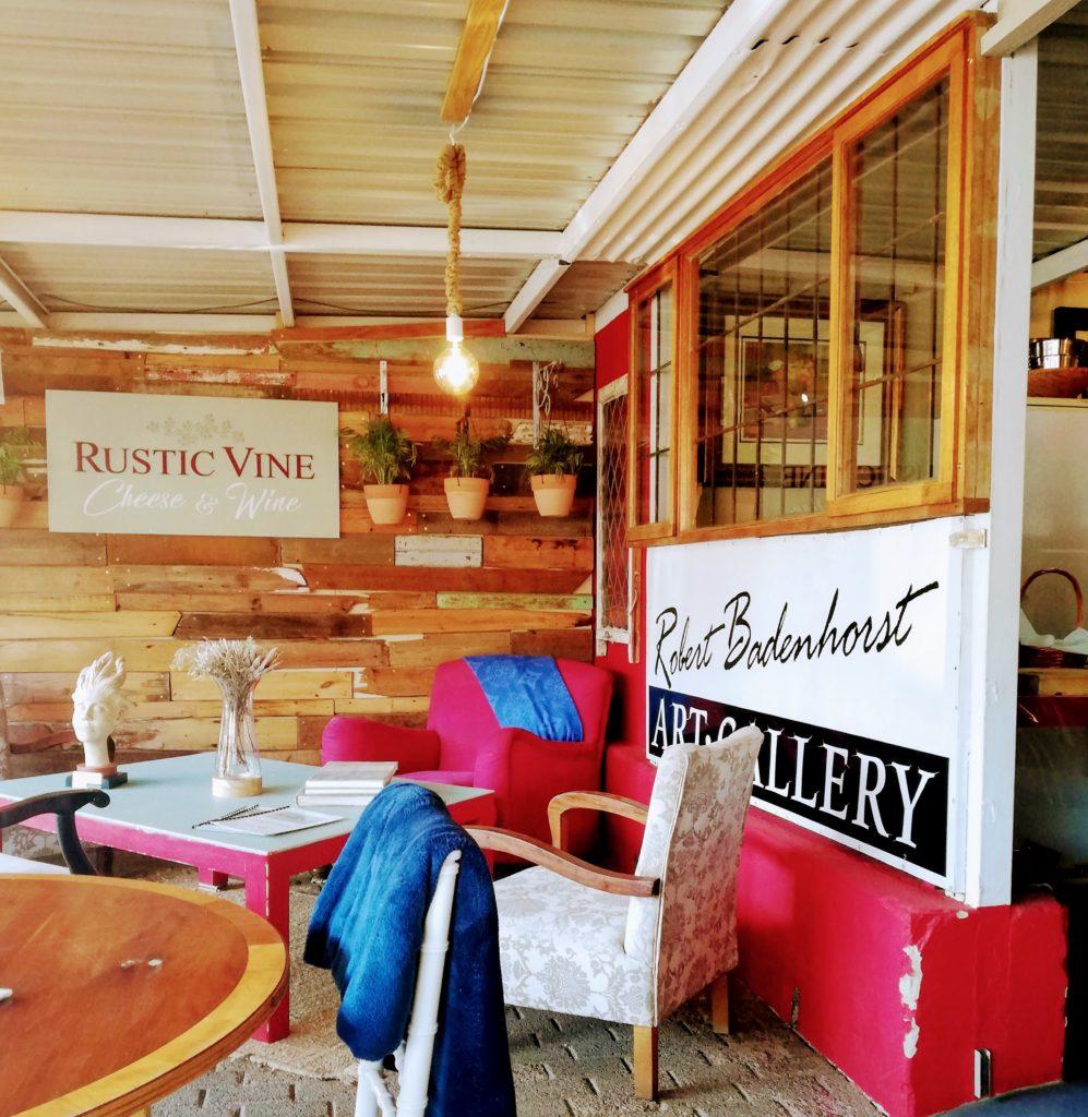 Cozy corner at Rustic Vine Clarens
