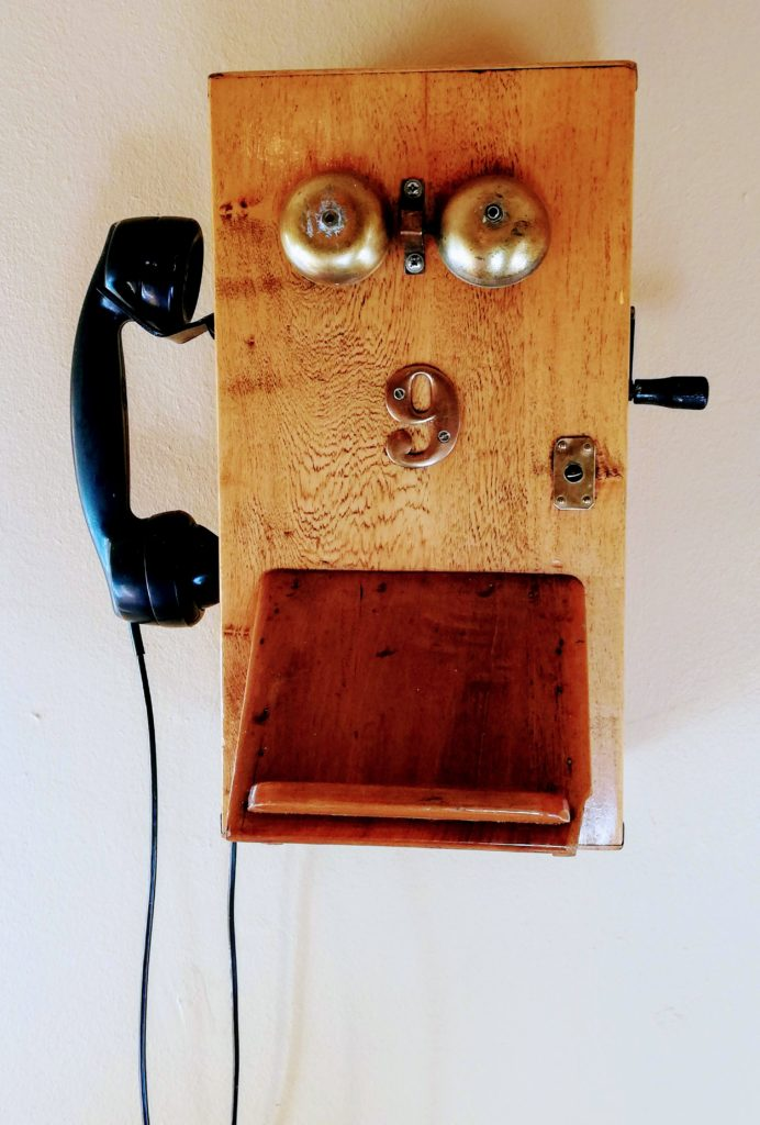 Old phone 9 The Posthouse Restaurant
