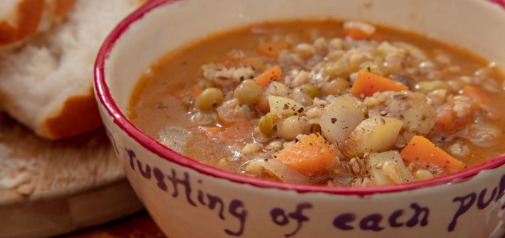 Chunky Vegetable Barley Soup