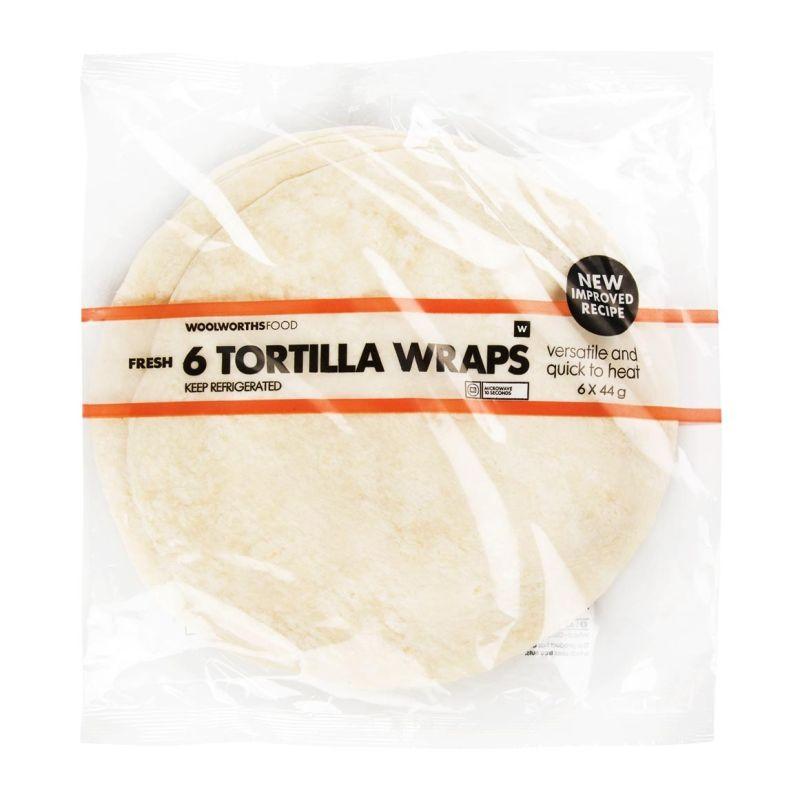 Woolworths SA tortillas