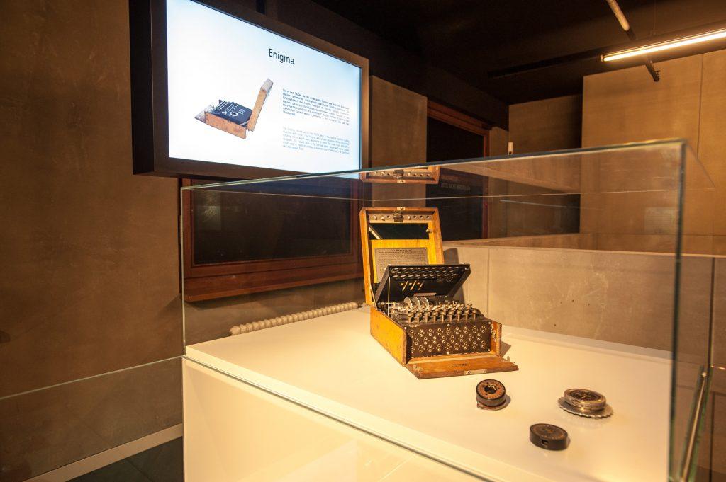 Spy Typewriter at the Berlin Spy Museum